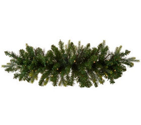 """""""As Is"""" Bethlehem Lights 40"""" Green Swag with 2-in-"""