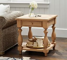 Pottery Barn Parkmore Reclaimed Wood End Table