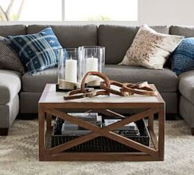 Pottery Barn Grove Square Coffee Table