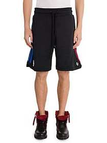 Marcelo Burlon NBA Sweat Shorts BLACK MULTI