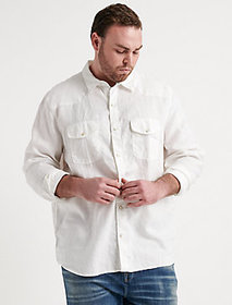 Lucky Brand Big & Tall French Linen Western
