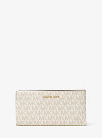 Michael Kors Logo Slim Wallet
