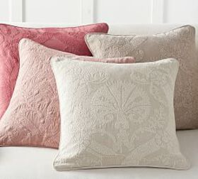 Pottery Barn Halima Embroidered Pillow Cover