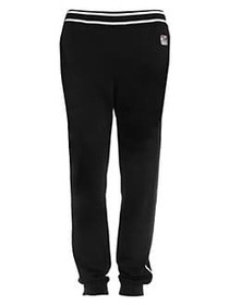 Z Zegna Techmerino Wool Colorblock Track Pants NAV