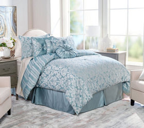 """""""As Is"""" Northern Nights Jacquard Reversible 7 pc K"""