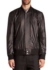 Public School Reversible Bomber Jacket BLACK