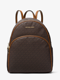 Michael Kors Abbey Large Logo Backpack