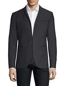John Varvatos Garment Dyed Shawl Collar Jacket MID