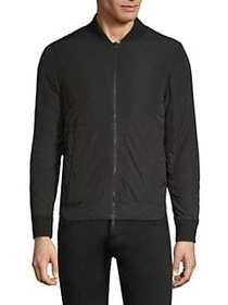 Officine Generale Steven Baseball-Collar Jacket BL