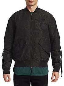 Saks Fifth Avenue x Anthony Davis Zip-Front Bomber