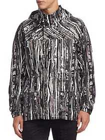 Issey Miyake Forest Patterned Jacket GREY