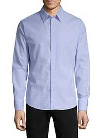 Rag & Bone Slim-Fit Base Button-Down Shirt BLUE MU