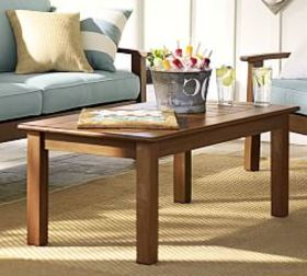 Pottery Barn Chatham Coffee Table, Honey