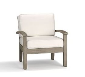 Pottery Barn Chatham Occasional Chair, Gray