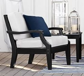 Pottery Barn Hampstead Painted Occasional Armchair