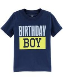 carters Baby Boy Birthday Boy Jersey Tee