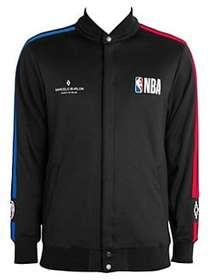 Marcelo Burlon NBA Track Jacket BLACK MULTI