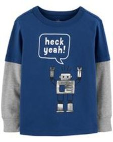 carters Baby Boy Layered Look Tee