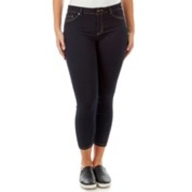 D JEANS Petite High Waisted Skinny Jeans with Stud