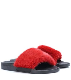 Givenchy Mink slides