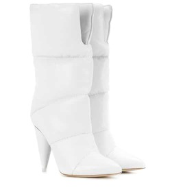 Jimmy Choo x Off-White Sara 100 leather boots