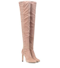 Jimmy Choo Marie 100 suede boots