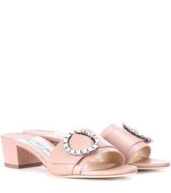 Jimmy Choo Granger 35 leather slides