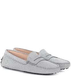 Tod's Gommino glitter loafers