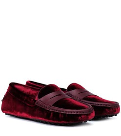 Tod's Exclusive to Mytheresa – Gommino velvet loaf