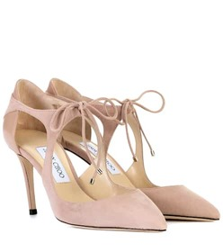 Jimmy Choo Vanessa 85 suede pumps