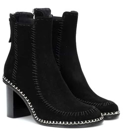 JW Anderson Scare Crow suede ankle boots