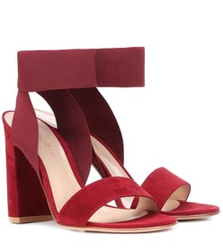 Gianvito Rossi Hailee suede sandals