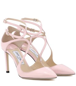 Jimmy Choo Lancer 85 patent leather pumps