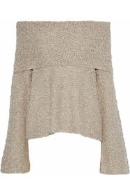 ELIZABETH AND JAMES Sophie off-the-shoulder bouclé