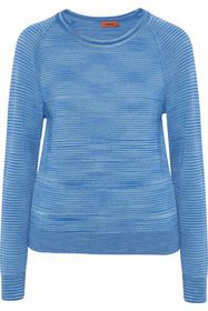 MISSONI Mélange cashmere and silk-blend sweater