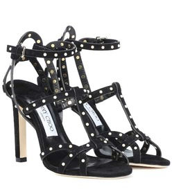 Jimmy Choo Beverly 100 suede sandals