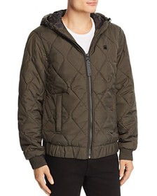 G-STAR RAW - Whistler Meefic Hooded Bomber Jacket