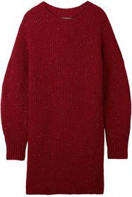 BURBERRY Oversized ribbed wool, cashmere and mohai