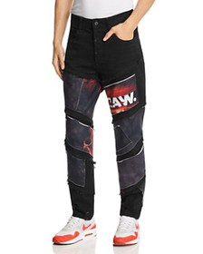 G-STAR RAW - x Jaden Smith Spiraq Slim Fit Patchwo