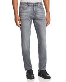 BOSS - Delaware Straight Slim Fit Jeans in Gray -
