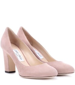 Jimmy Choo Billie 85 suede pumps