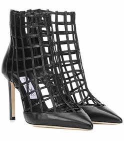 Jimmy Choo Sheldon 100 leather ankle boots