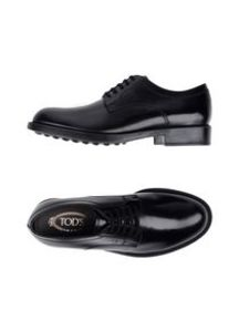 TOD'S - Laced shoes