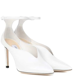 Jimmy Choo Sonia 100 leather pumps