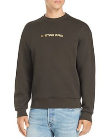 G-STAR RAW - Togrul Metallic Logo-Print Sweatshirt