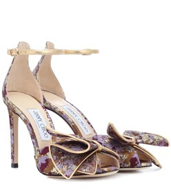 Jimmy Choo Karlotta 100 brocade sandals
