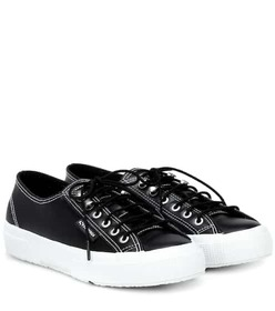 AlexaChung x SUPERGA® leather sneakers
