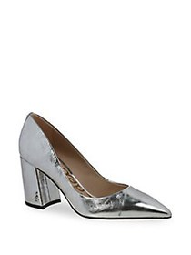 Sam Edelman Tatiana Metallic Leather Pointy Pumps