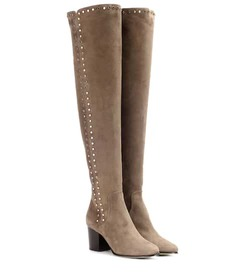 Jimmy Choo Harlem 65 suede over-the-knee boots