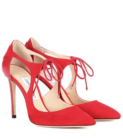 Jimmy Choo Vanessa 100 suede pumps